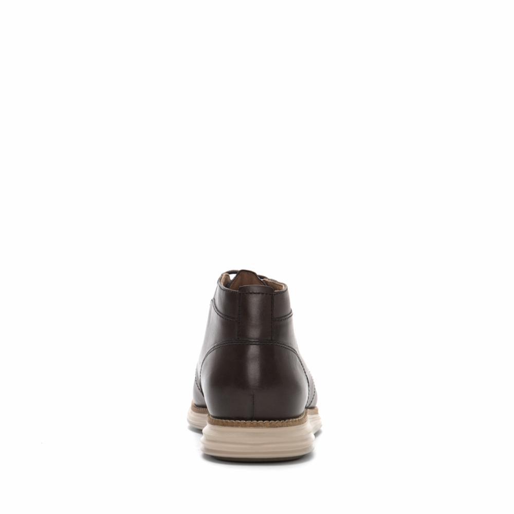 Cole-Haan-Men-039-s-W-Original-Grand-Chukka-C26477-Black-Ironstone-M